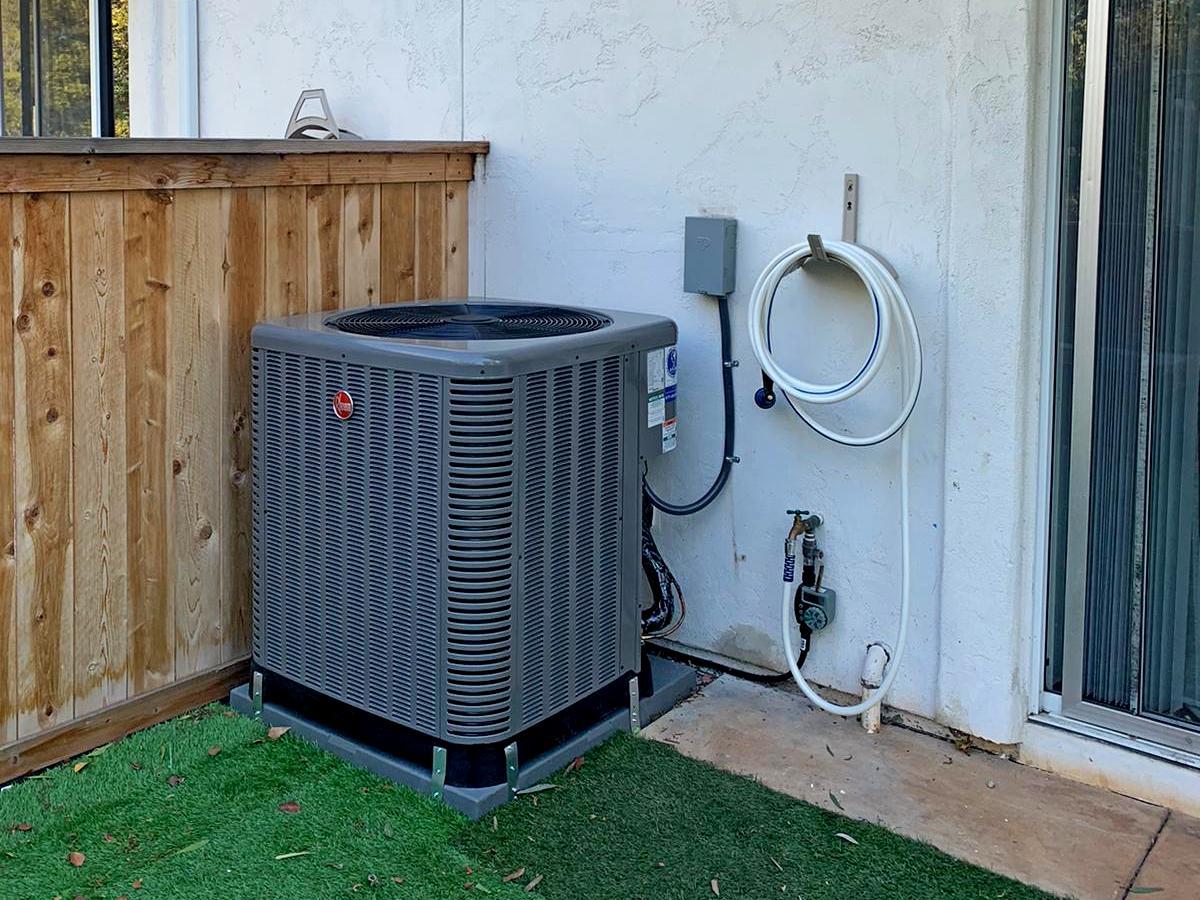 System replacement in Rancho Bernardo