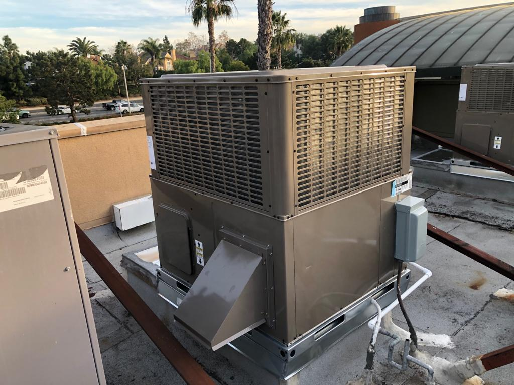 2 Package Units Replacement in Board and Brew Restaurant
