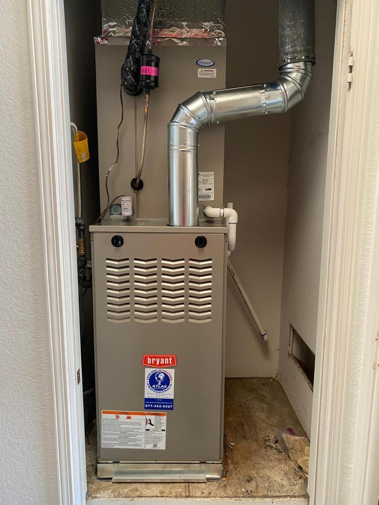 Atlas HVAC System Replacement in Escondido, CA